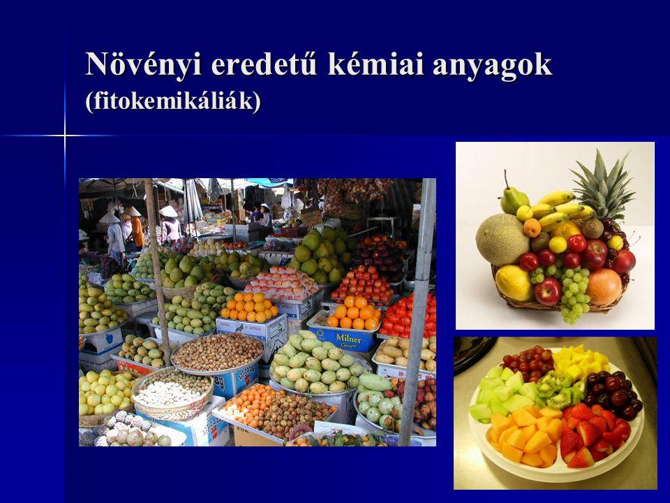 Növényi eredetű kémiai anyagok (fitokemikáliák)