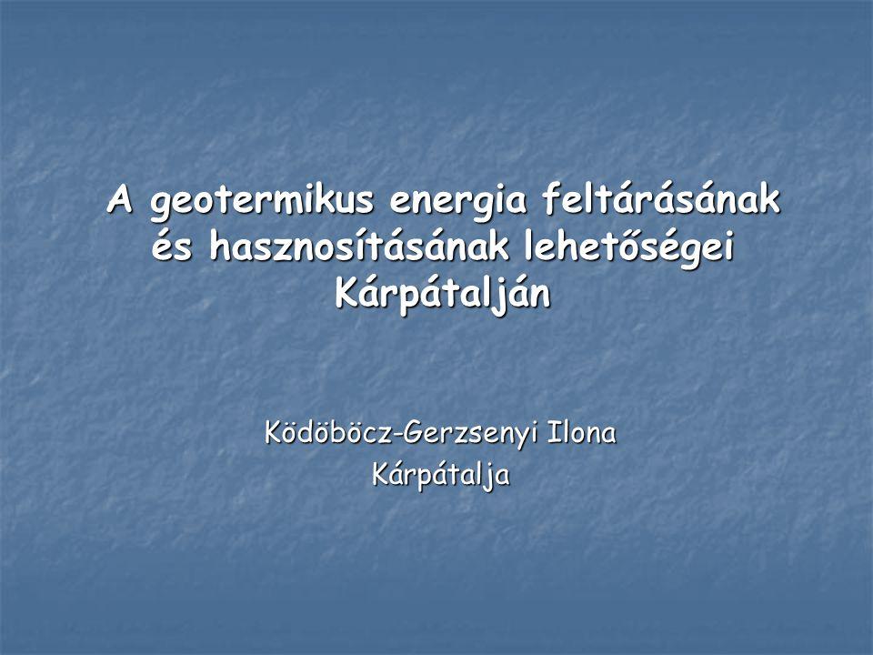 Ködöböcz-Gerzsenyi Ilona Kárpátalja