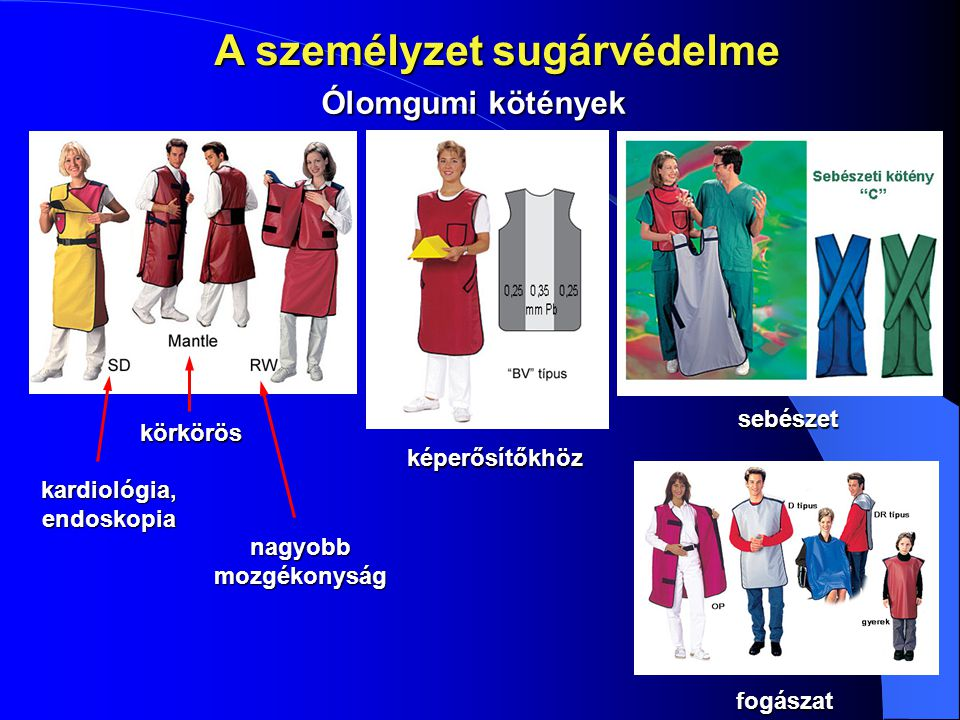 A személyzet sugárvédelme kardiológia, endoskopia