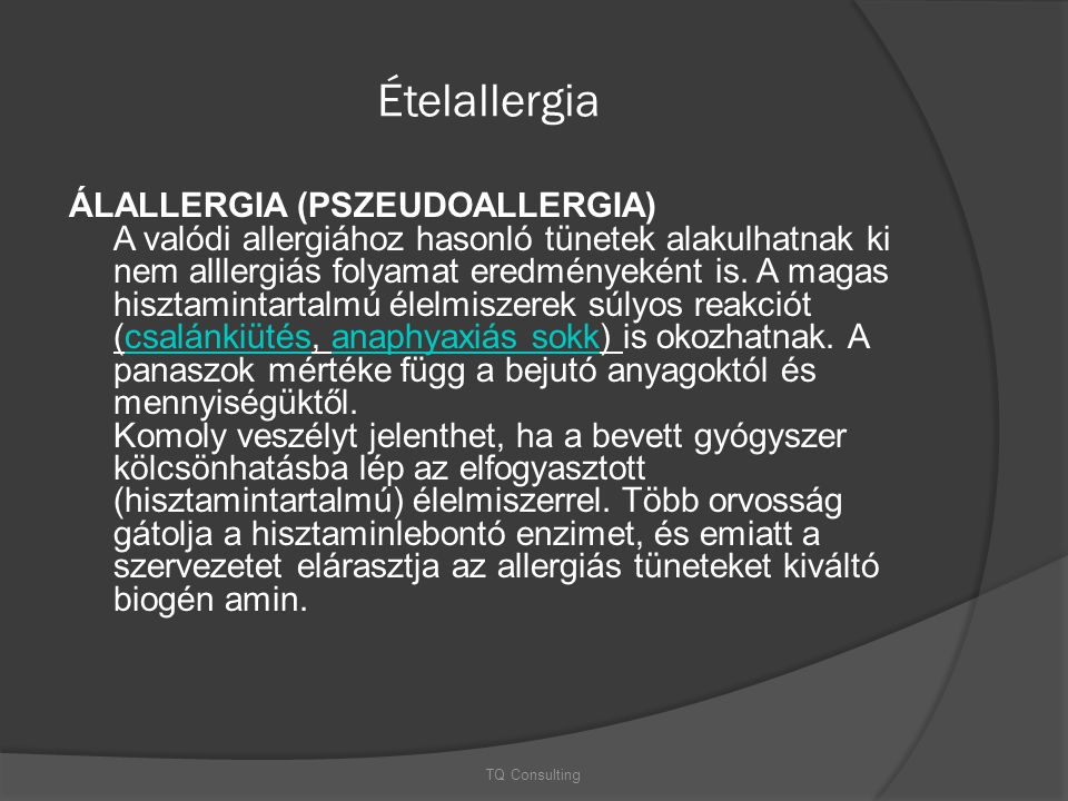 Ételallergia