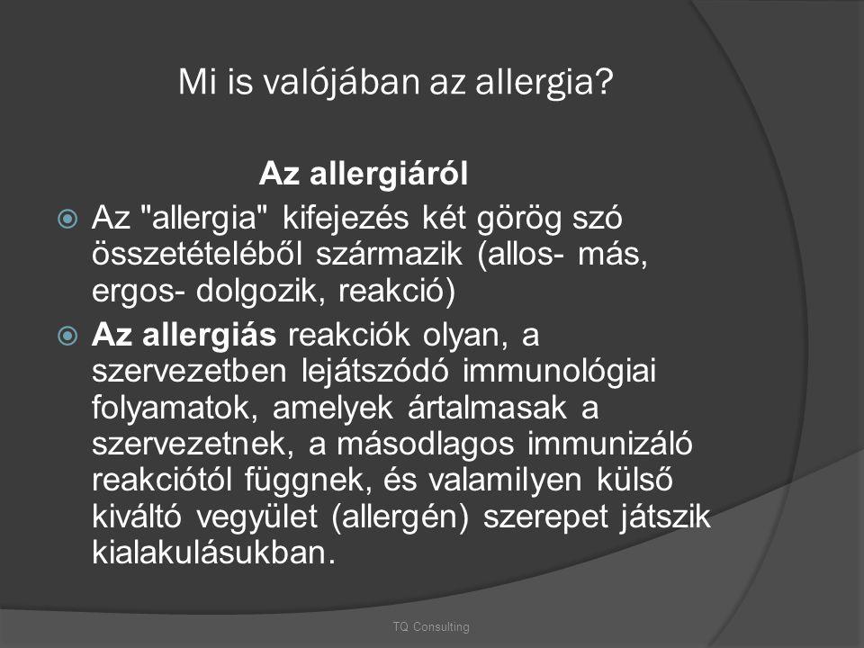 Mi is valójában az allergia