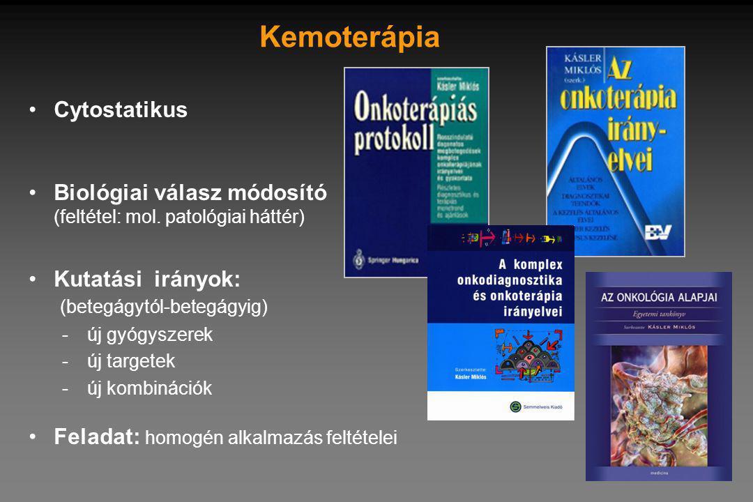Kemoterápia Cytostatikus