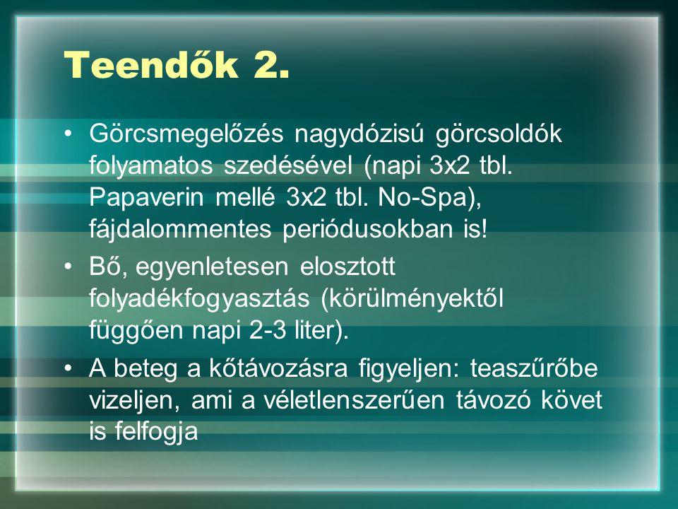 Teendők 2.