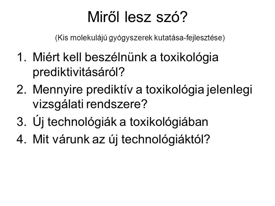 Miről lesz szó (Kis molekulájú gyógyszerek kutatása-fejlesztése)