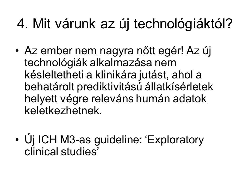 4. Mit várunk az új technológiáktól