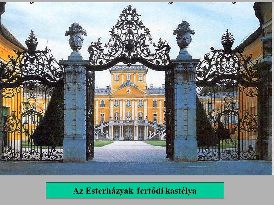 Az Esterházyak fertődi kastélya