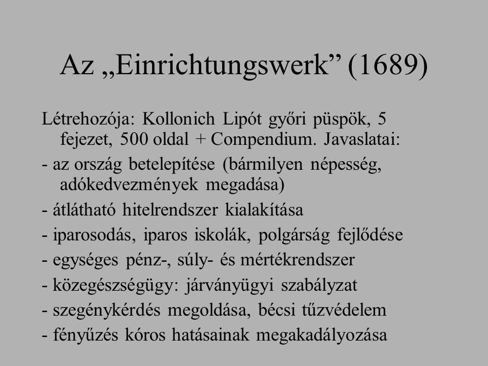 """Az """"Einrichtungswerk (1689)"""