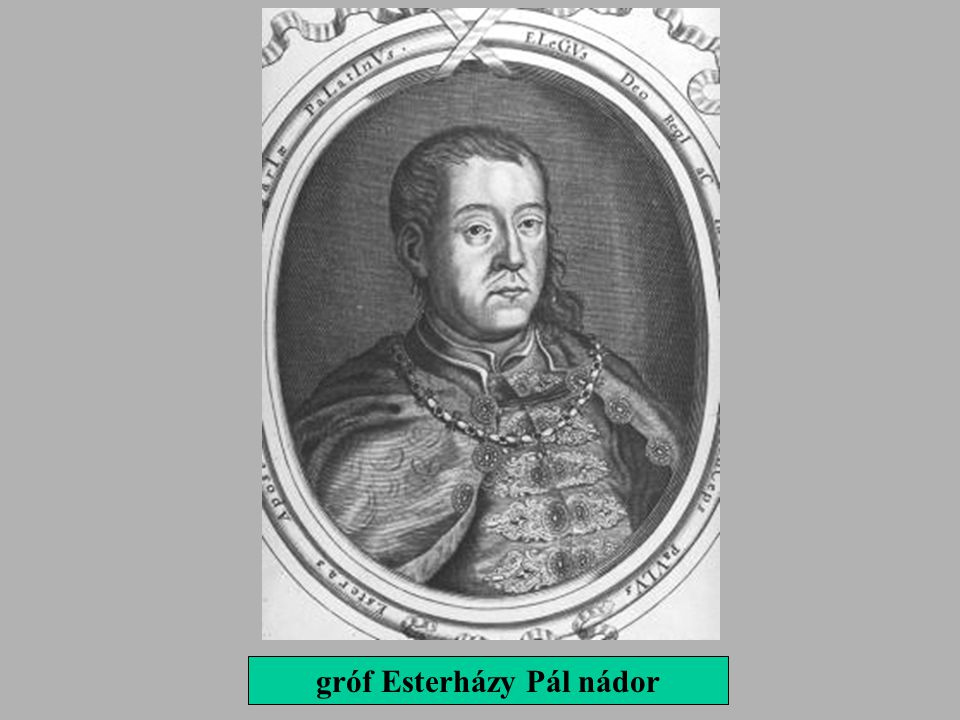 gróf Esterházy Pál nádor