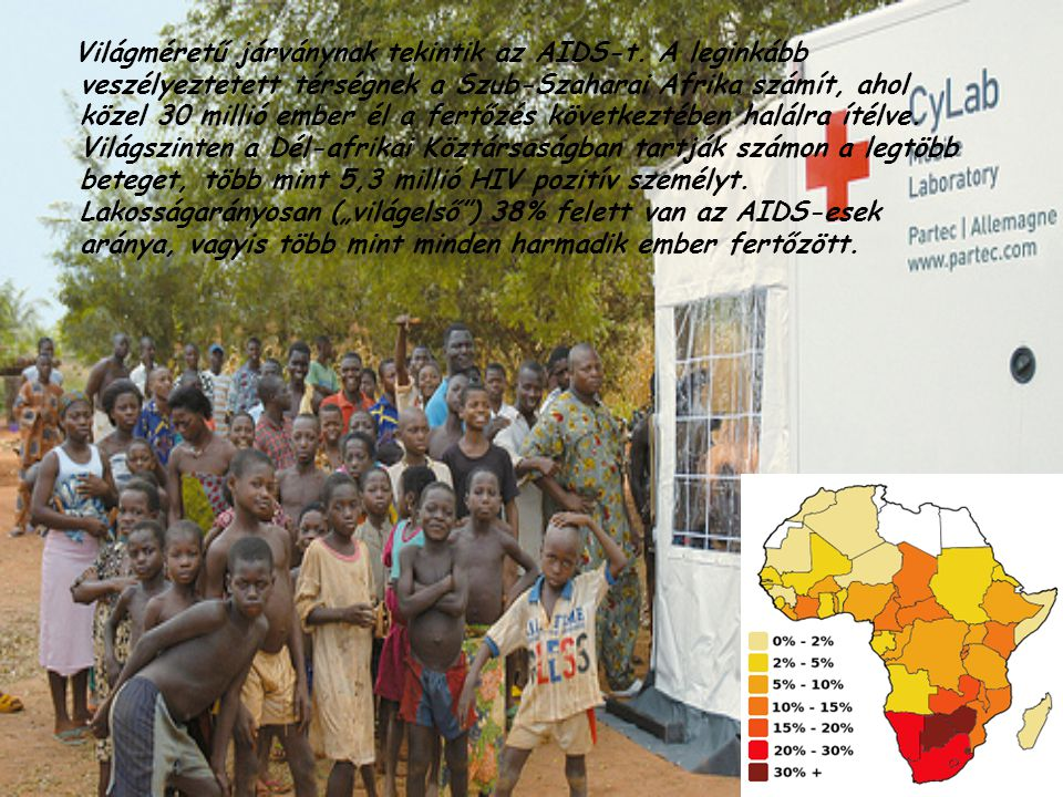 Világméretű járványnak tekintik az AIDS-t