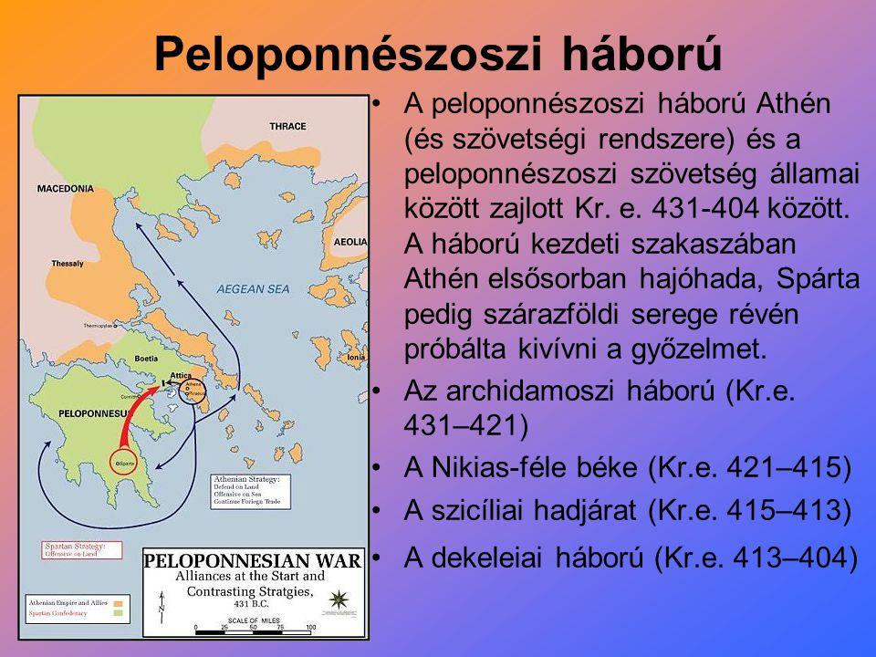 Peloponnészoszi háború