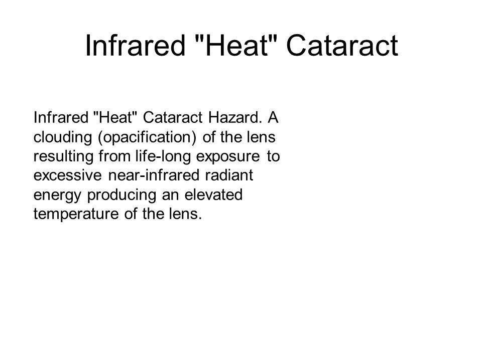 Infrared Heat Cataract