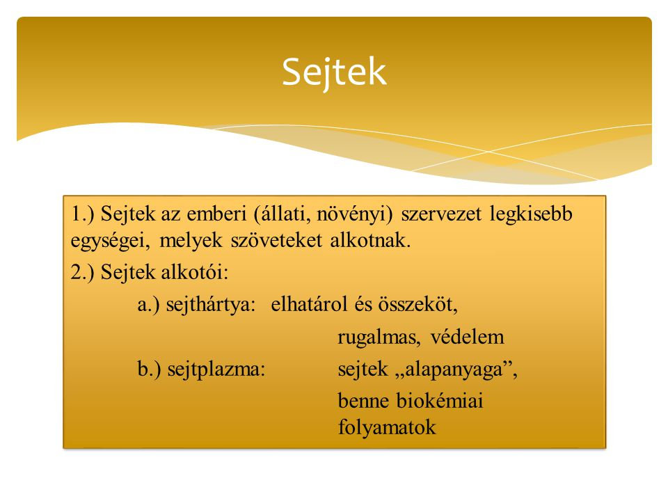 Sejtek