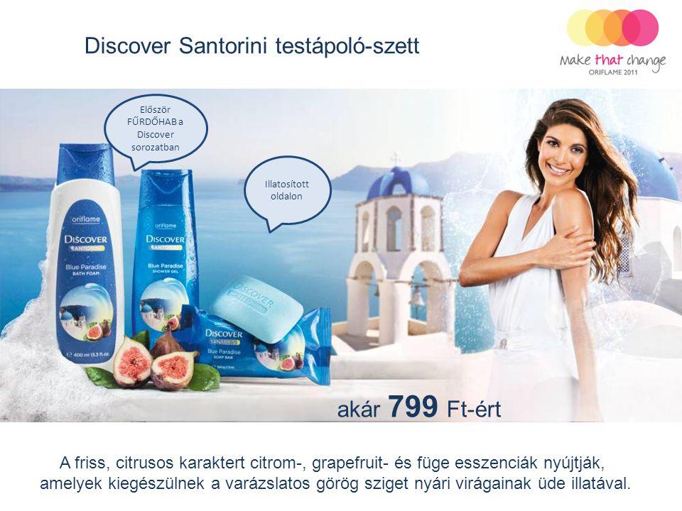 akár 799 Ft-ért Discover Santorini testápoló-szett