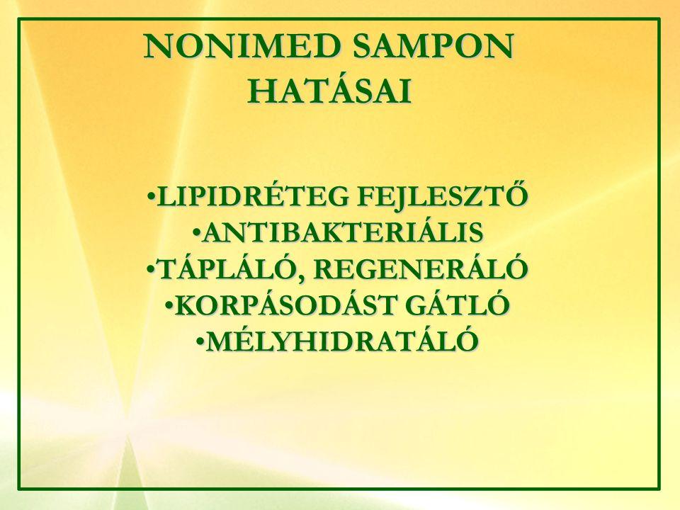 NONIMED SAMPON HATÁSAI