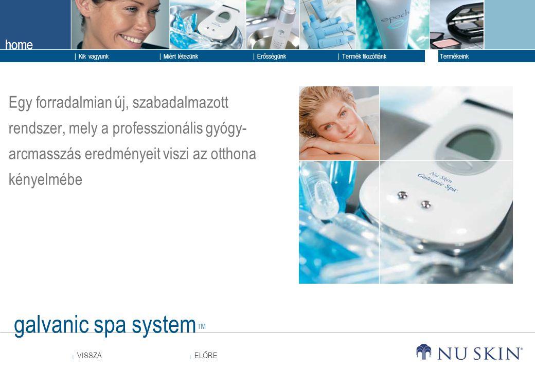 Egy forradalmian új, szabadalmazott rendszer, mely a professzionális gyógy-arcmasszás eredményeit viszi az otthona kényelmébe