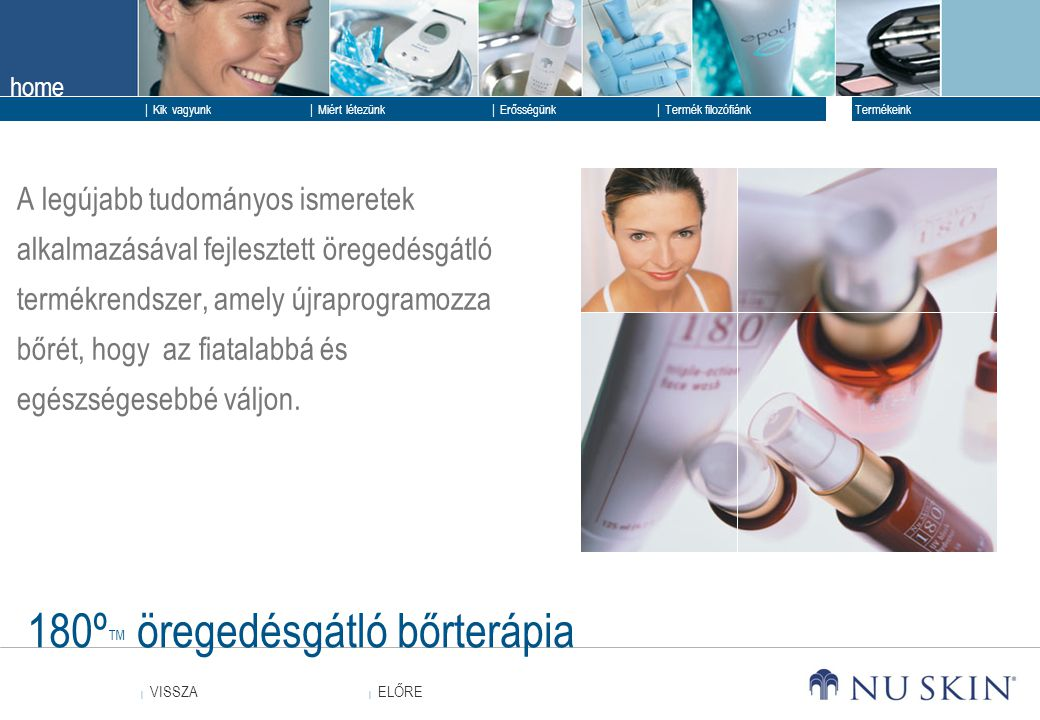 180º™ öregedésgátló bőrterápia