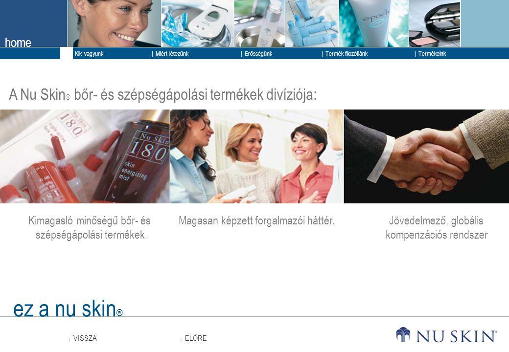 ez a nu skin® A Nu Skin® bőr- és szépségápolási termékek divíziója: