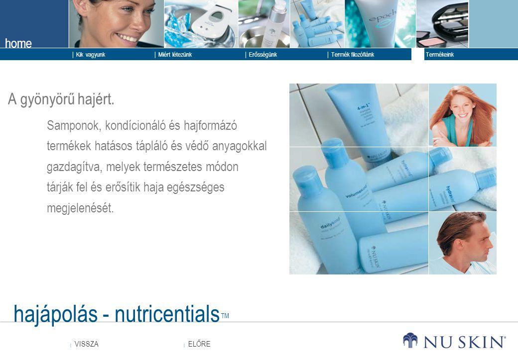 hajápolás - nutricentials™