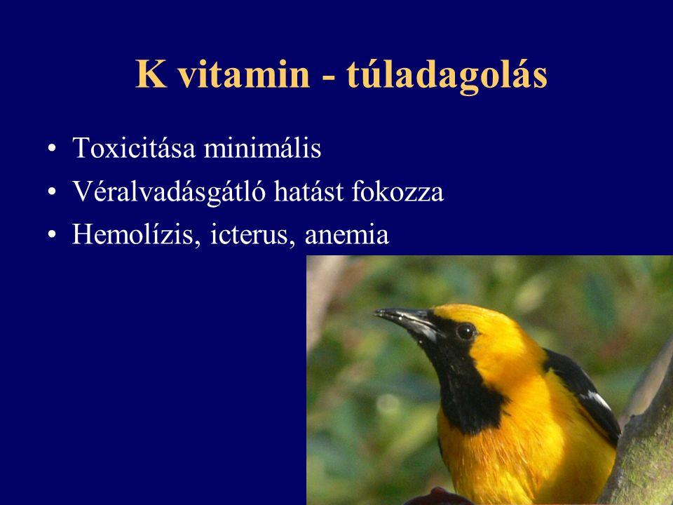K vitamin - túladagolás