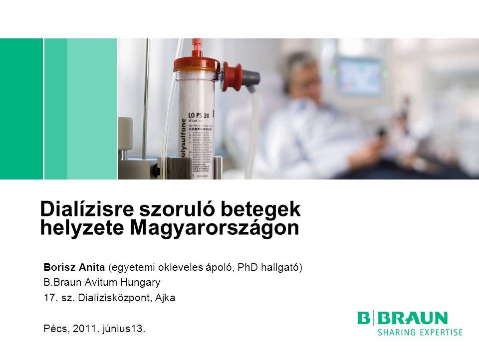 Dialízisre szoruló betegek helyzete Magyarországon