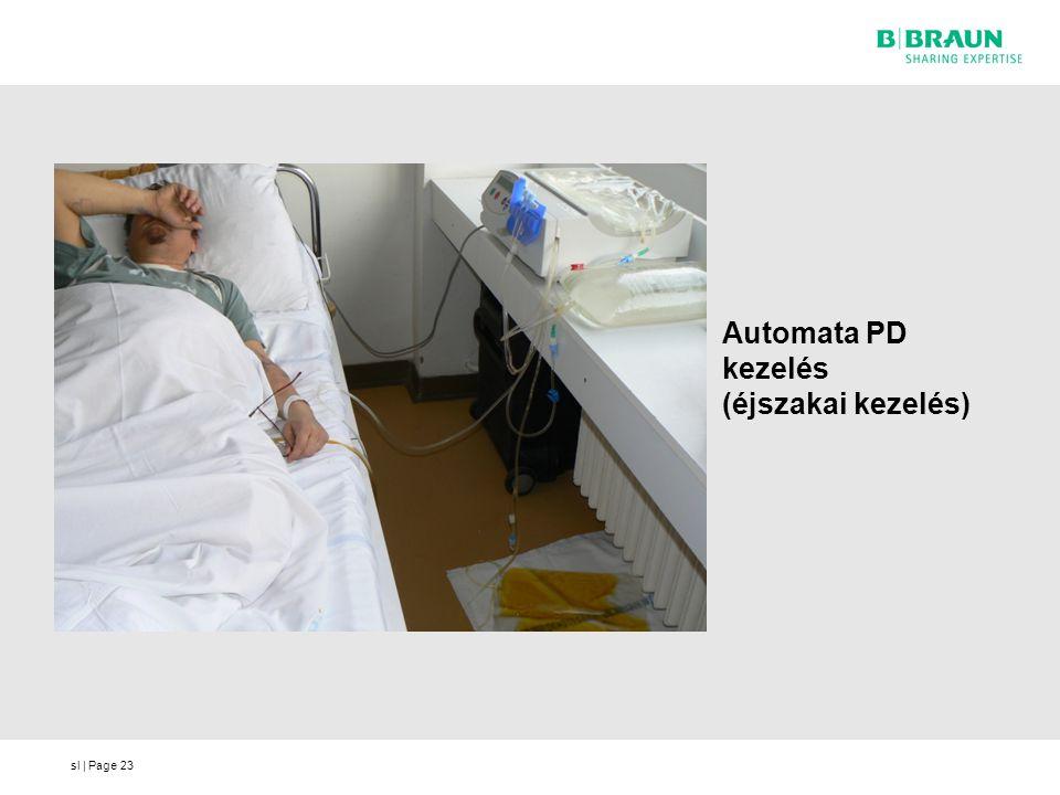 Automata PD kezelés (éjszakai kezelés)