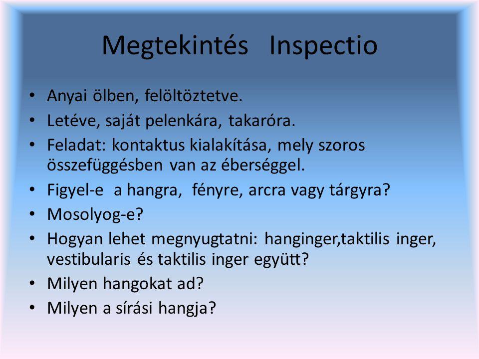 Megtekintés Inspectio