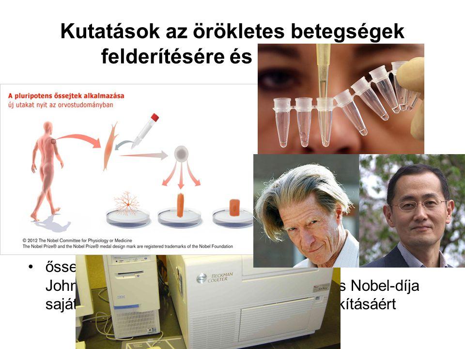 Kutatások az örökletes betegségek felderítésére és kezelésére