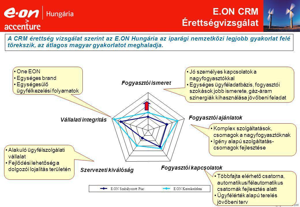E.ON CRM Érettségvizsgálat