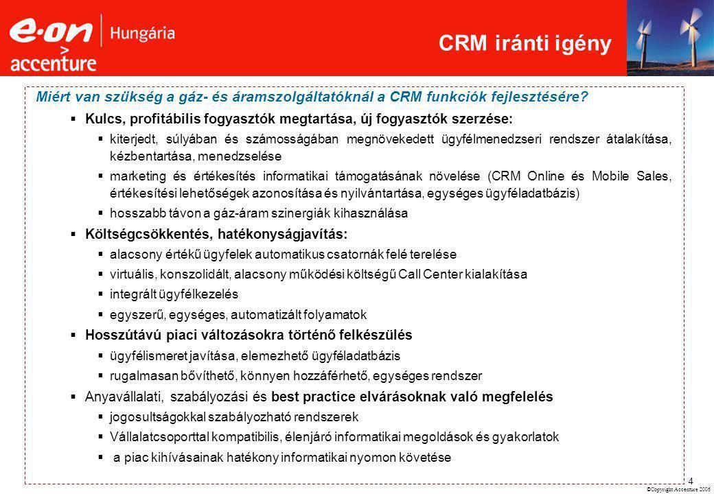 CRM iránti igény Miért van szükség a gáz- és áramszolgáltatóknál a CRM funkciók fejlesztésére