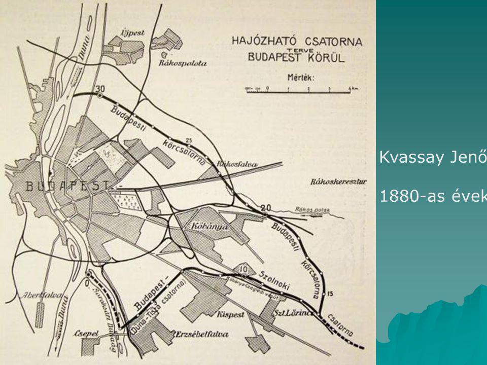 Kvassay Jenő 1880-as évek