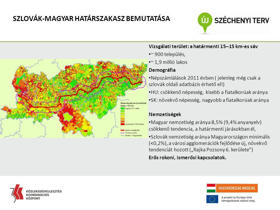SZLOVÁK-MAGYAR HATÁRSZAKASZ BEMUTATÁSA