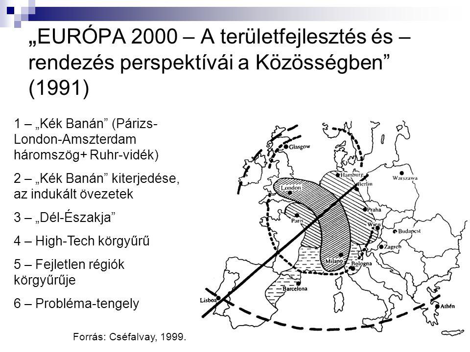 """""""EURÓPA 2000 – A területfejlesztés és –rendezés perspektívái a Közösségben (1991)"""