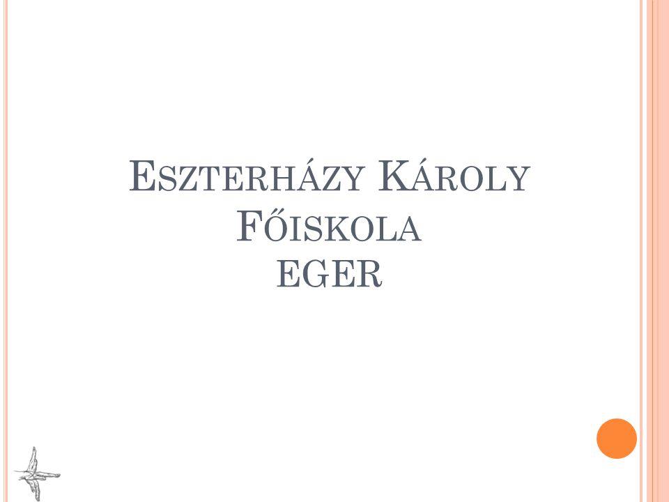 Eszterházy Károly Főiskola EGER