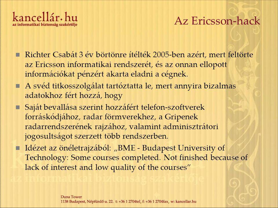 Az Ericsson-hack