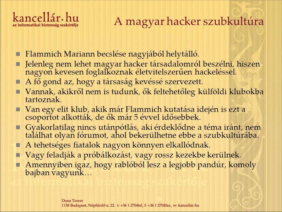 A magyar hacker szubkultúra