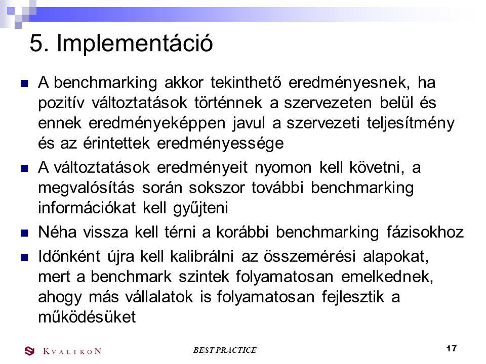 5. Implementáció