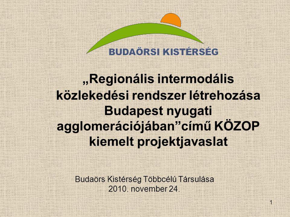 Budaörs Kistérség Többcélú Társulása 2010. november 24.