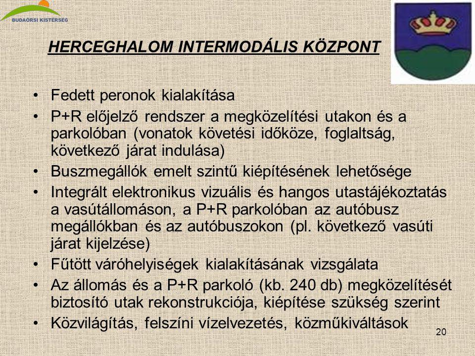 HERCEGHALOM INTERMODÁLIS KÖZPONT