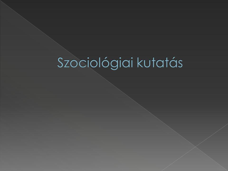 Szociológiai kutatás