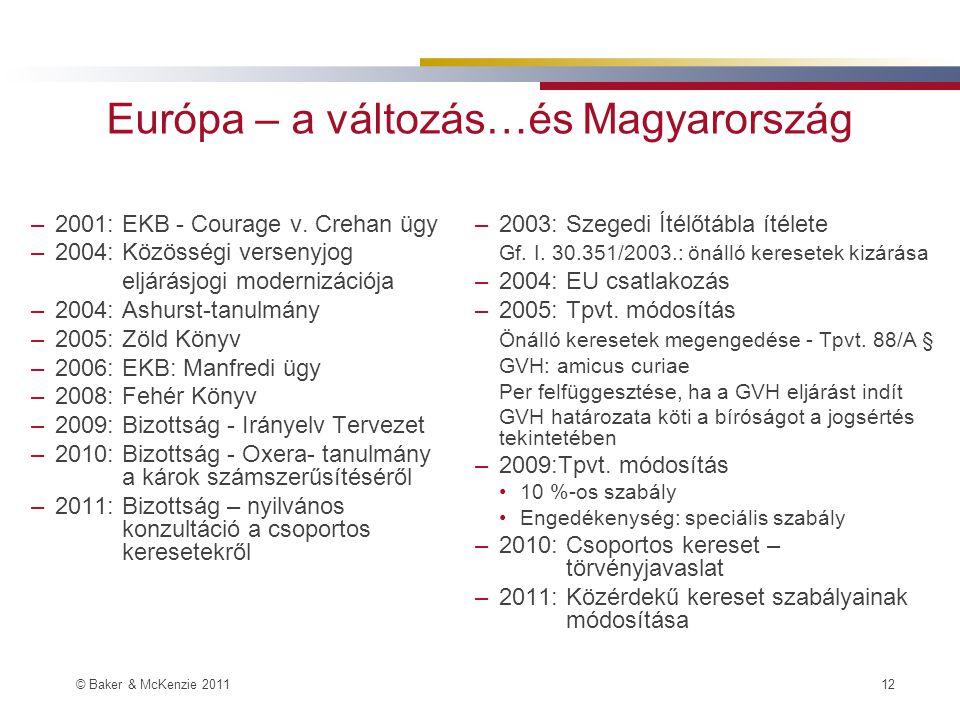 Európa – a változás…és Magyarország