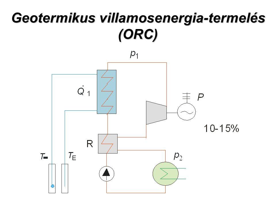 Geotermikus villamosenergia-termelés (ORC)