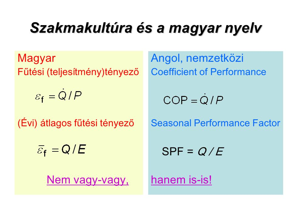 Szakmakultúra és a magyar nyelv