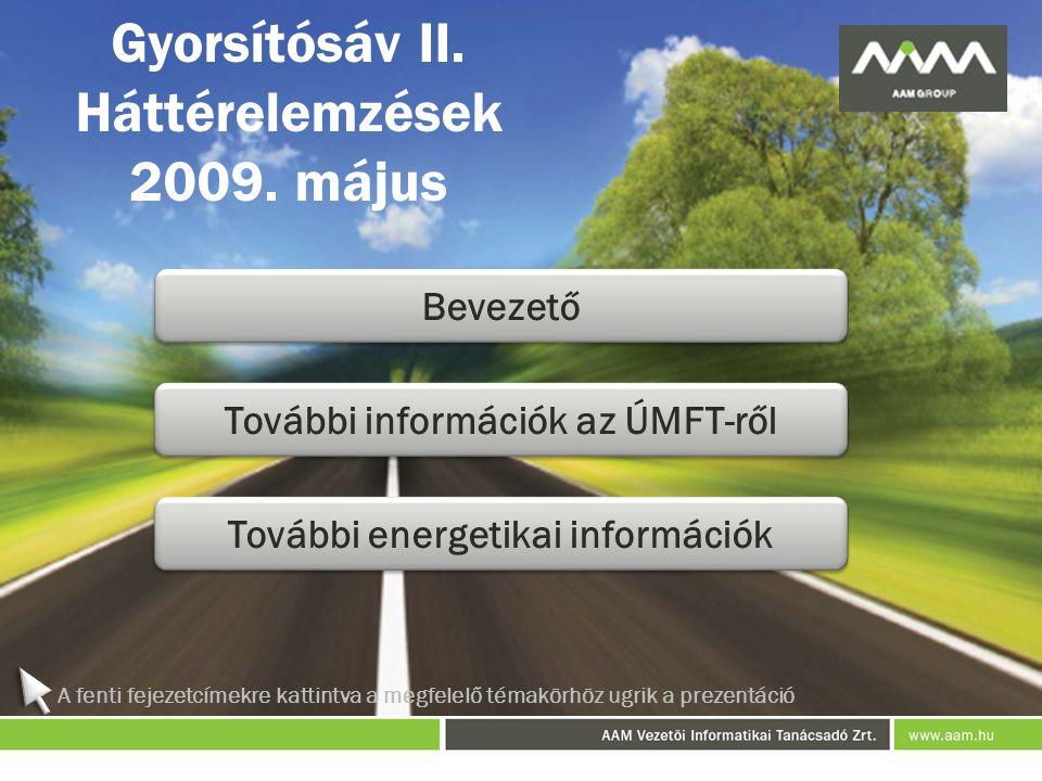 Gyorsítósáv II. Háttérelemzések 2009. május