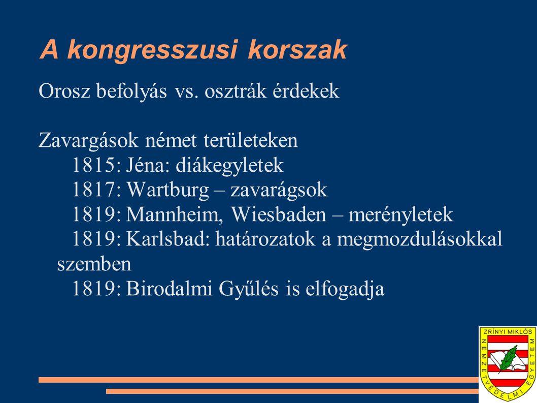 A kongresszusi korszak