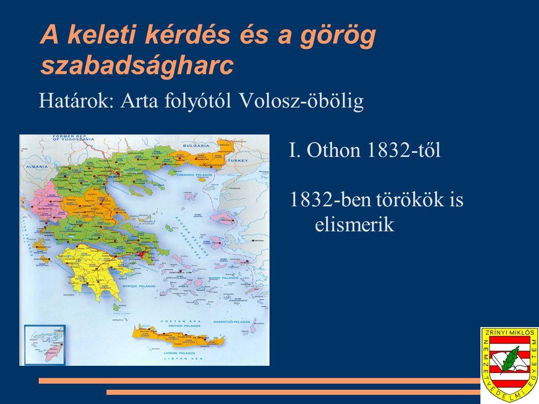 A keleti kérdés és a görög szabadságharc