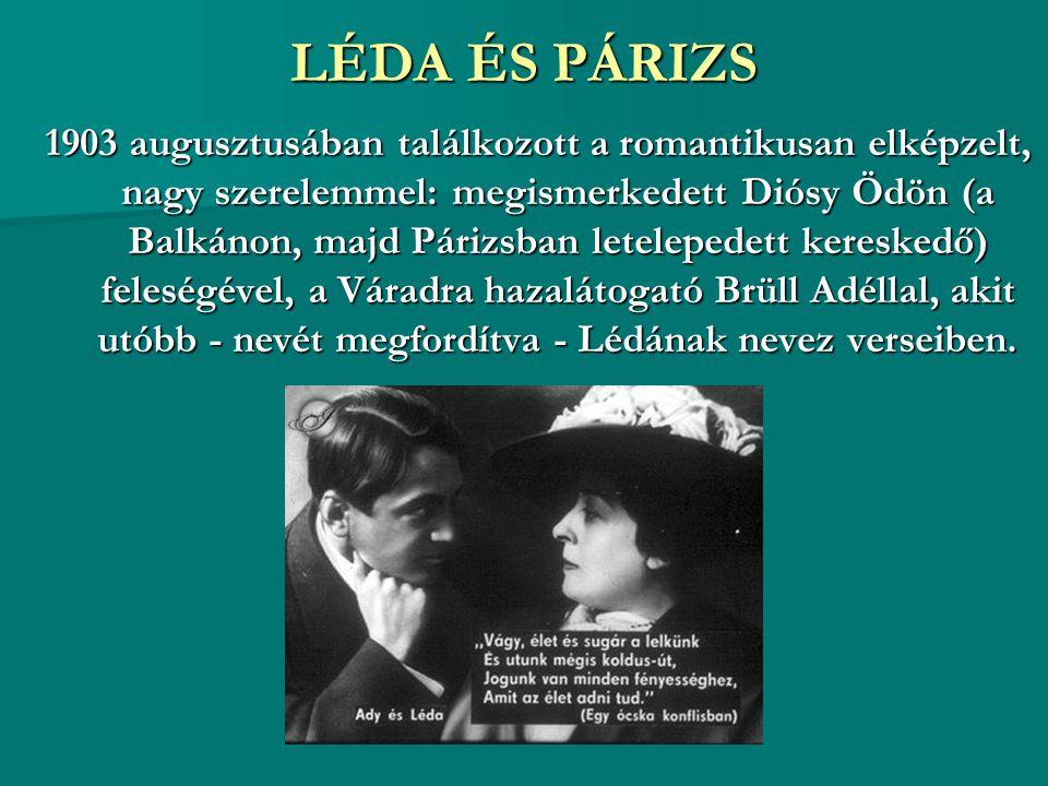 LÉDA ÉS PÁRIZS