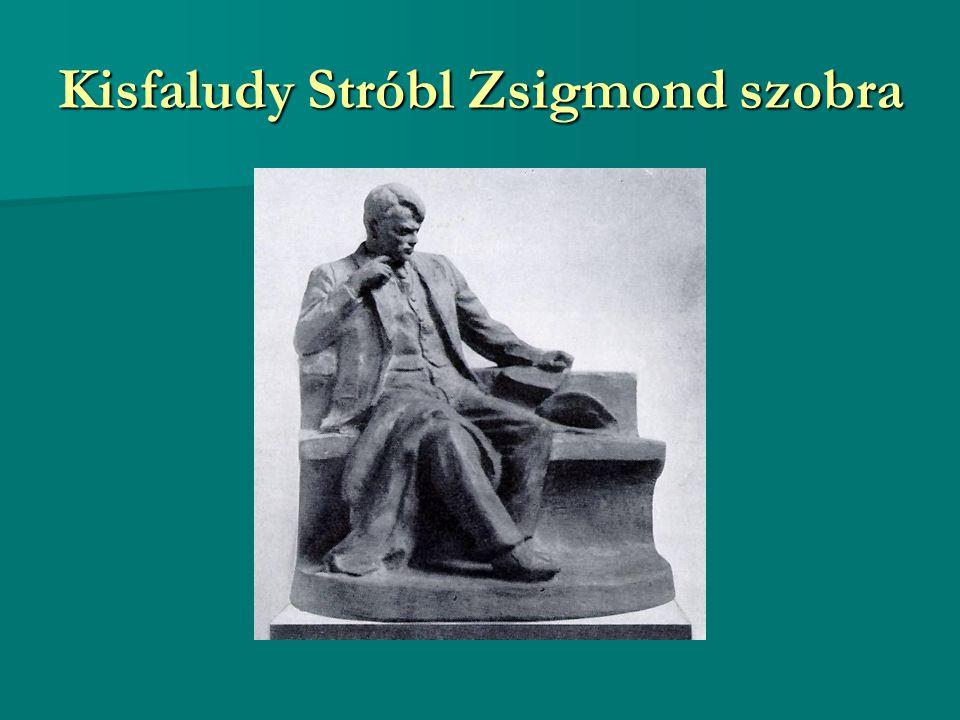 Kisfaludy Stróbl Zsigmond szobra
