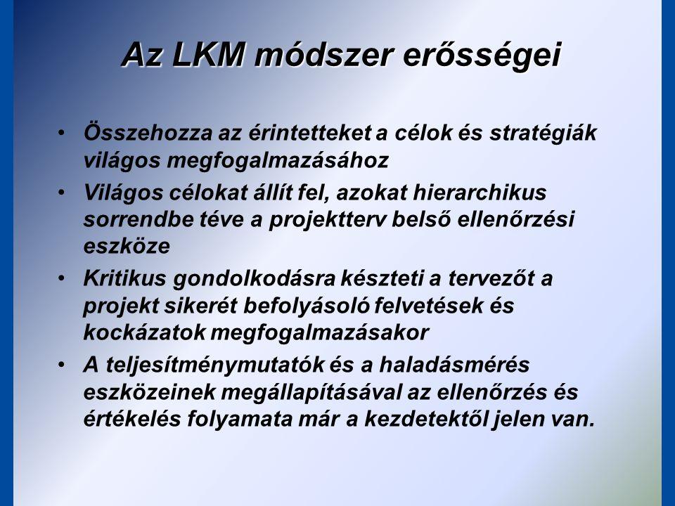 Az LKM módszer erősségei
