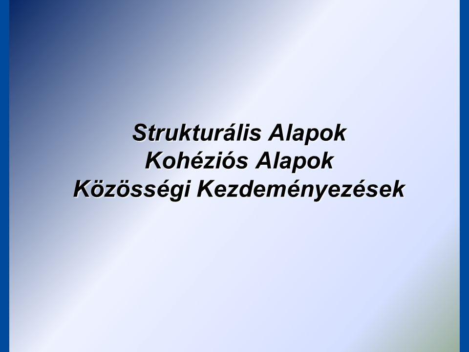 Strukturális Alapok Kohéziós Alapok Közösségi Kezdeményezések