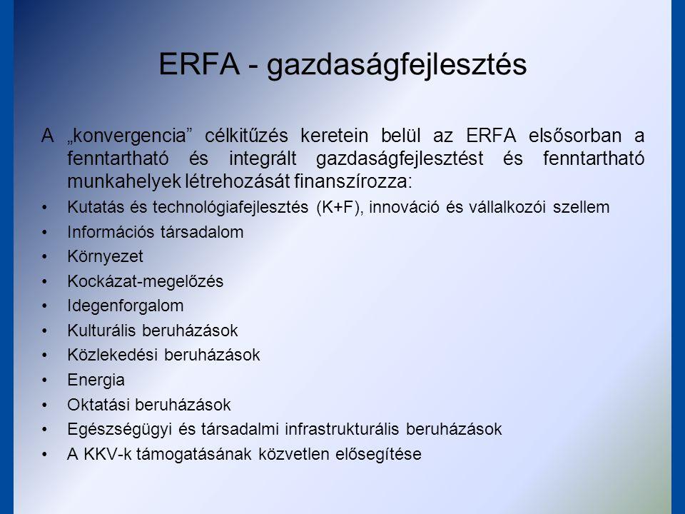 ERFA - gazdaságfejlesztés